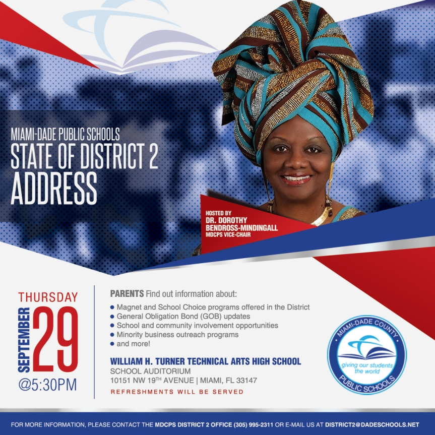 State of District 2 Address